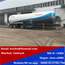 55000liters 15800gallons GPL Transport citerne semi-remorque